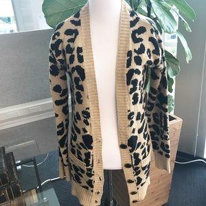 Sweaters - Leopard Sweater